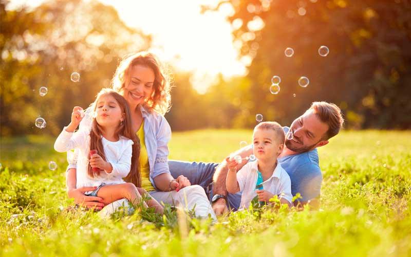 Samlevende familie